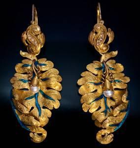 antika örhängen