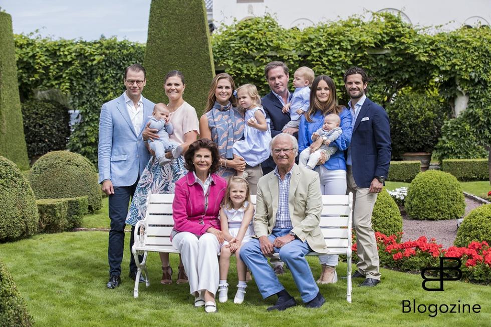 41664f1189ac En gammal tradition har återupptagits - eller ja, vi hoppas i alla fall att  det kommer att bli en tradition igen - kungafamiljens sommarfotografering  på ...