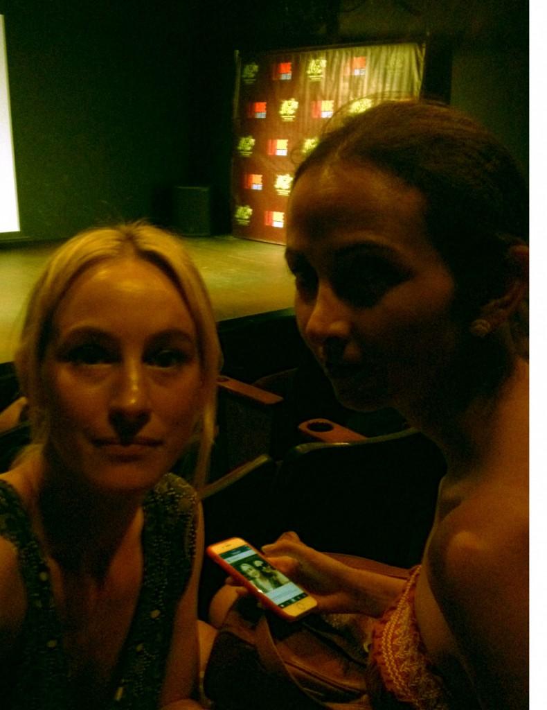 Me and Maria at LA Indie Film Festival.