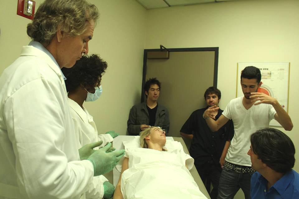 Director Dakota gives instructions.