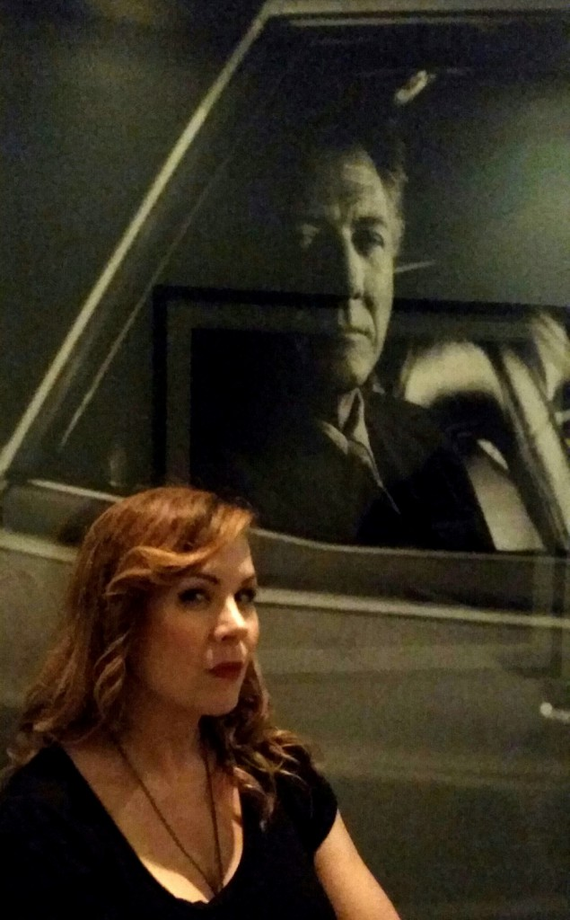 Meredith and Dustin Hoffman.