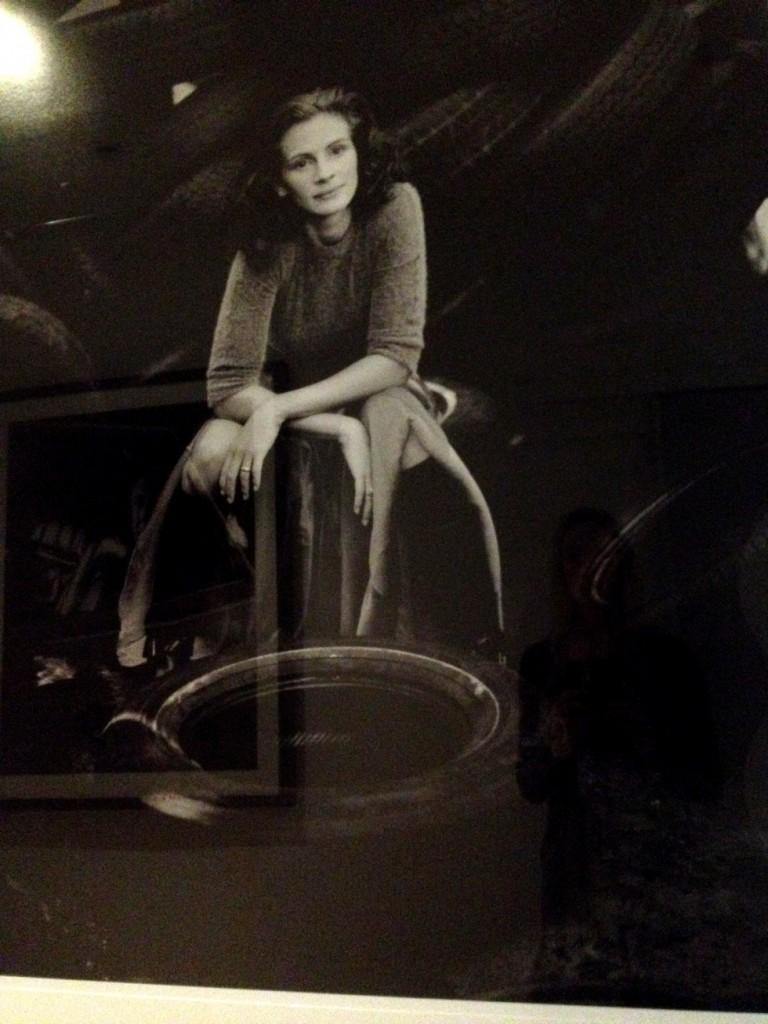 A young(er) Julia Roberts.