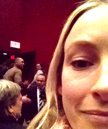 Will Smith's people wouldn't let him take photos with anyone after the Q&A, but here we are ;)