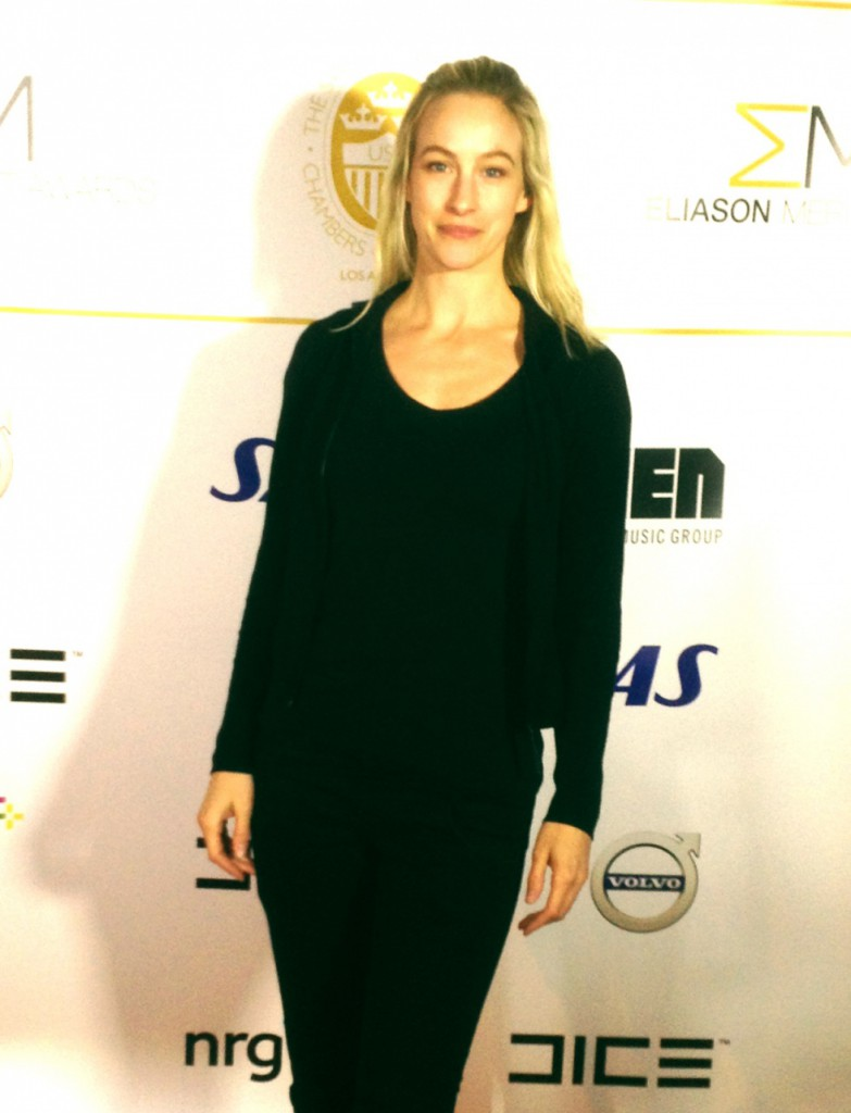 Red carpet at the Eliason Merit Award.