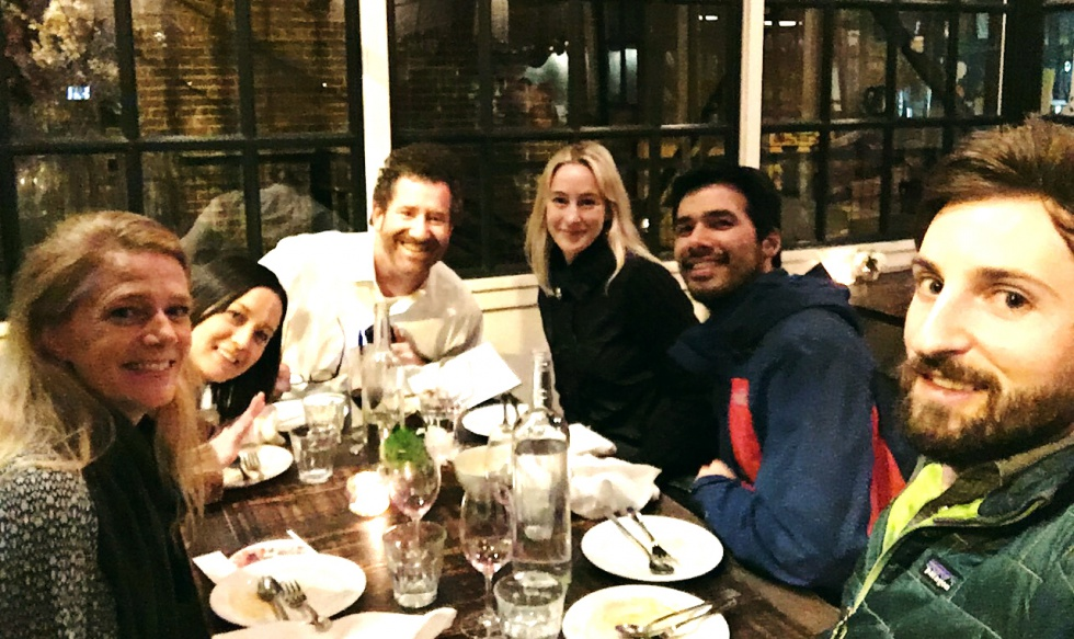 Dinner at Melrose Market in Seattle with Lena, Nin, Paul, Anthony and Collin.