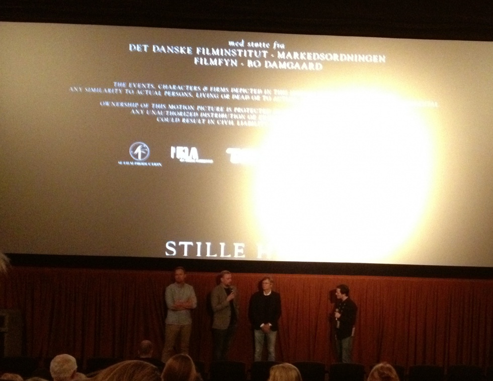 "Q&A after the screening of ""Silent Heart"" with producer Jesper Morthorst, screenwriter Christian Torpe and director Bille August."