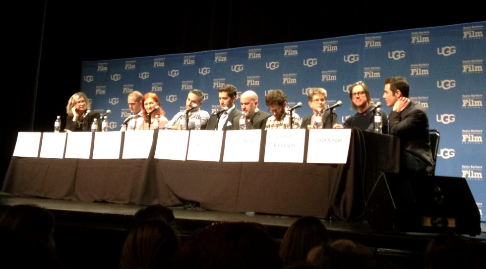 Writers Panel with the screenwriters of Inside Out, Room, Ex Machina, The Martian, Straight Outta Compton, Anomalisa, Carol, The Big Short and Spotlight.