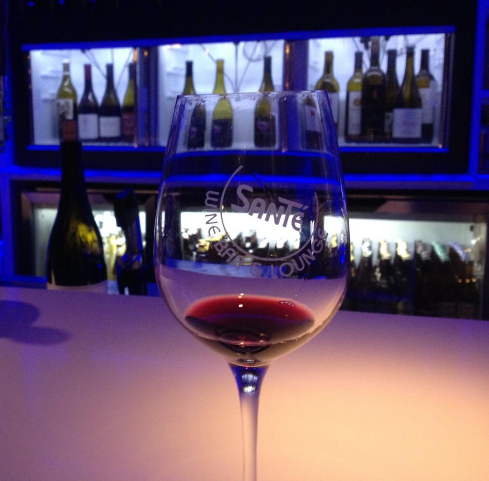 Wine tasting in Solvang.
