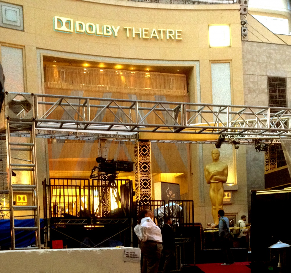 The Dolby Theatre.