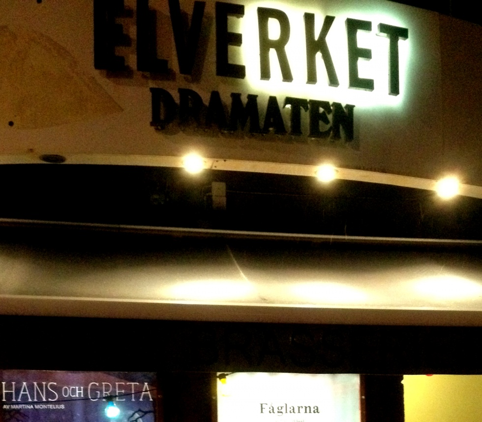 Elverket is one of the Royal Dramatic Theatre's stages.