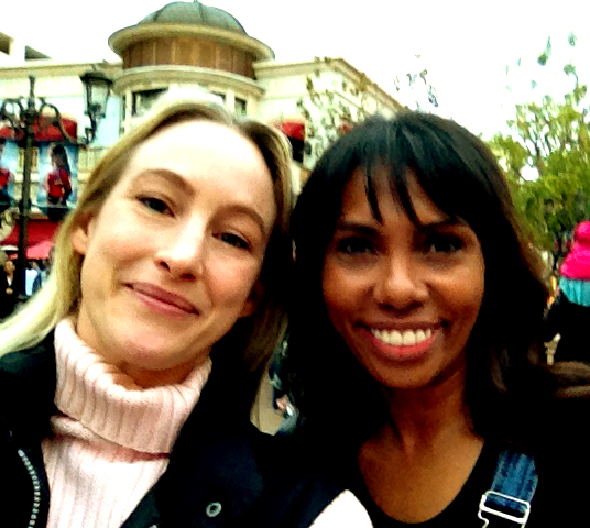 Me and Katina at The Grove.