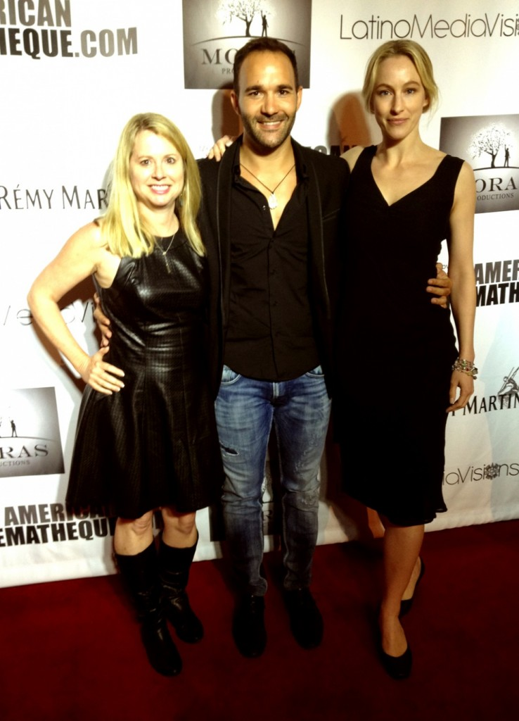 Kim , Jesus and I at the red carpet.