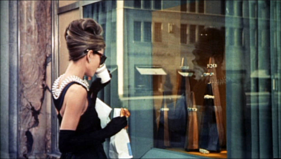Audrey Hepburn Tiffanys Blogozine