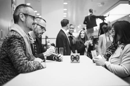 Viktor & Rolf's new fragrance Bonbon worldwide premiere in Amsterdam
