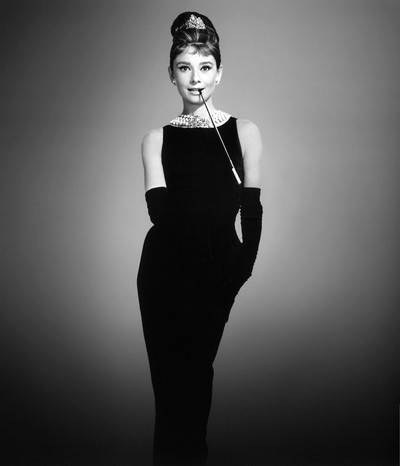 Blogozine Audrey Hepburn lilla svarta