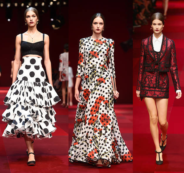 Dolce & Gabbana | Spring Summer 2015 Full Fashion Show | Exclusive | Blogozine.NET