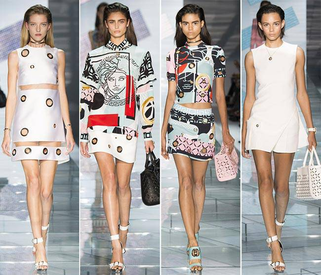 Versace | Spring Summer 2015 Full Fashion Show | Exclusive @Blogozine