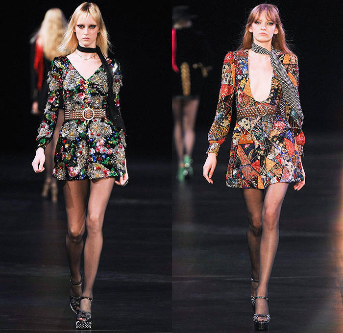 Saint Laurent | Spring Summer 2015 Full Fashion Show  @blogozine.net