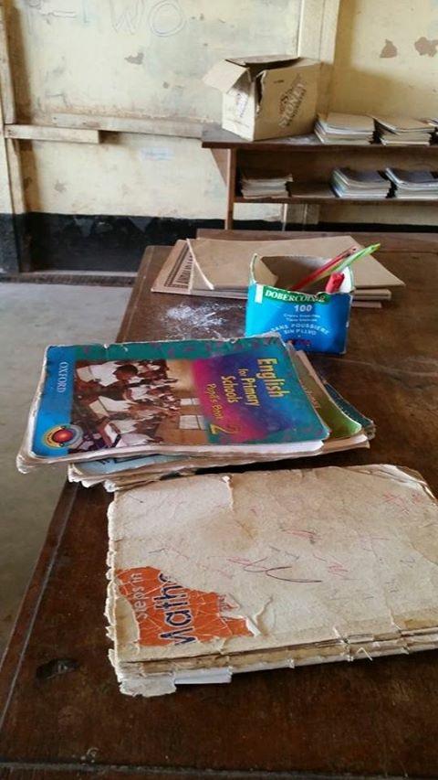 skolmaterial i Tanzania