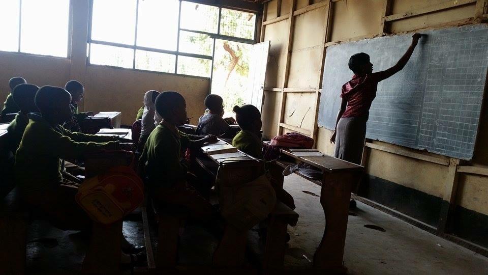 skola i Tanzania