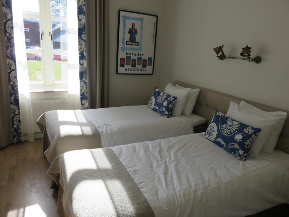 Hotellrum på Skytteholm