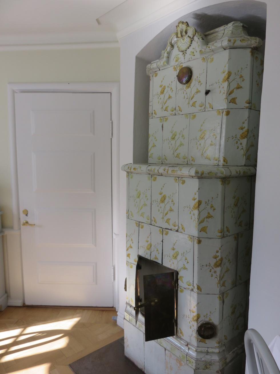 kakelugn från skytteholms herrgård