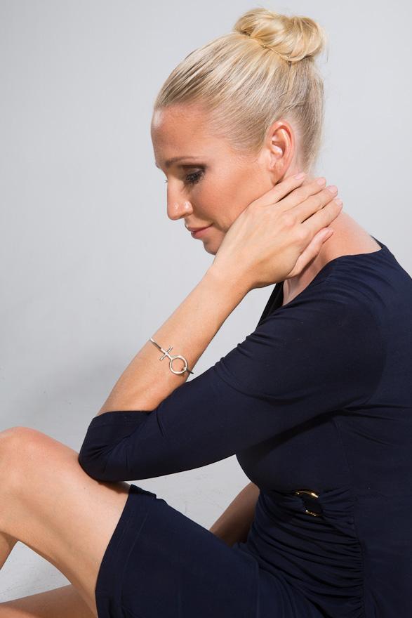 Lina Fribers, modell Malin Tilja