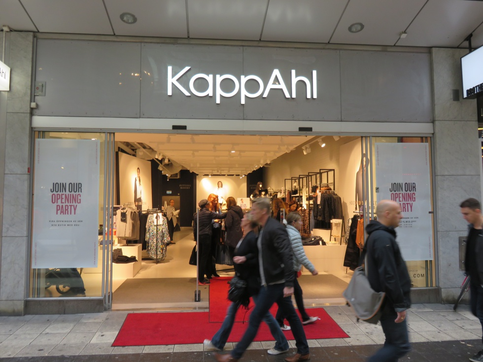 KappAhl flagship store