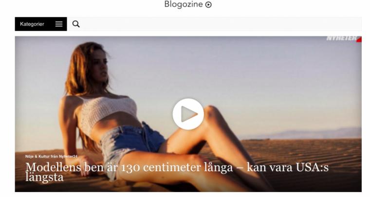 Säg välkommen till Blogozine TV!