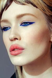 eyeliner blå