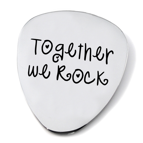 together-we-rock-steel-plectrum