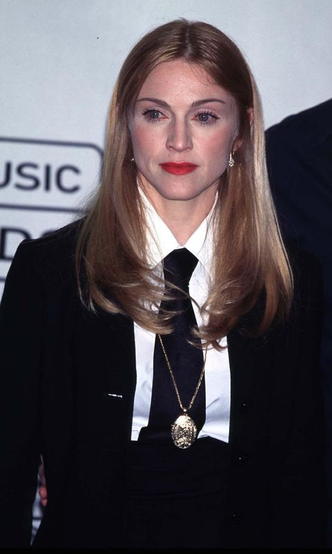 NEW YORK 1997-09-05 American Singer and Actress Madonna Attending the 1997 MTV Video Music Awards in New York Photo: Bandphoto Agency Photo/Starstock/Photoshot Code: 4034/B89 COPYRIGHT STELLA PICTURES