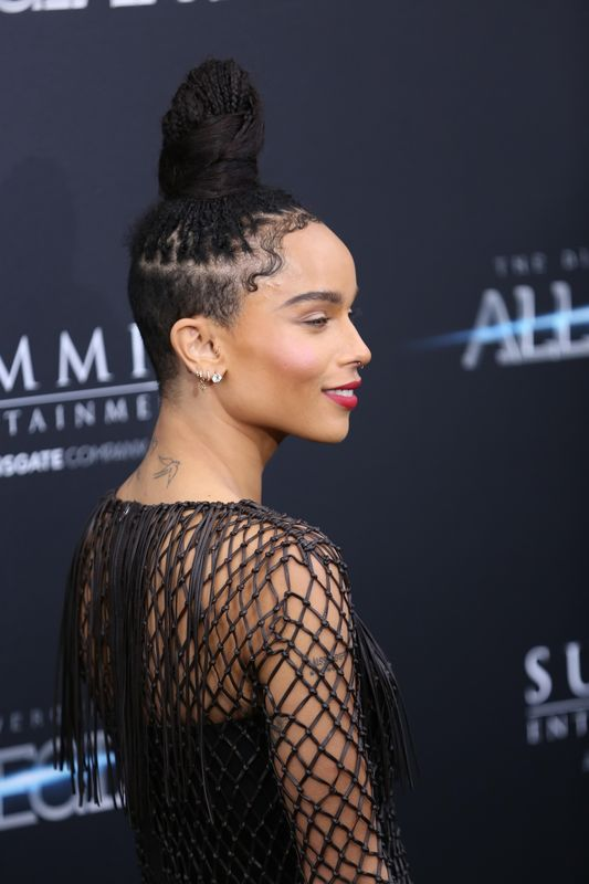 149452, Zoe Kravitz arrives at the 'Allegiant' New York premiere held at AMC Loews Lincoln Square 13 theatre in NYC. New York, New York - Monday March 14, 2016. Photograph: © AO Images, PacificCoastNews. Los Angeles Office: +1 310.822.0419 sales@pacificcoastnews.com FEE MUST BE AGREED PRIOR TO USAGE
