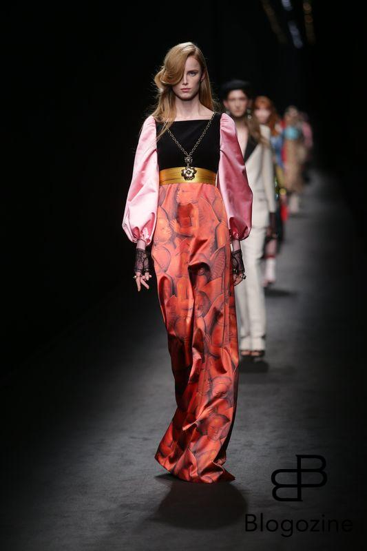 MILAN 24/2/2016. MILAN WOMAN FASHION WEEK AUTUMN WINTER GUCCI CATWALK -PH MODA 2016 CANIO ROSSETTI ANDREOLI/OLYCOM