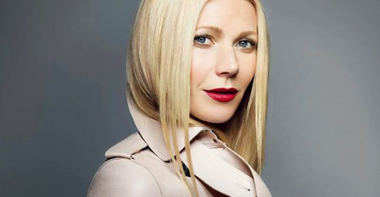 American actress Gywneth Paltrow stars the new Max Factor Glamour Statement Vision 2013 ad campaign, showing a new look as The Business Woman. STELLA PICTURES