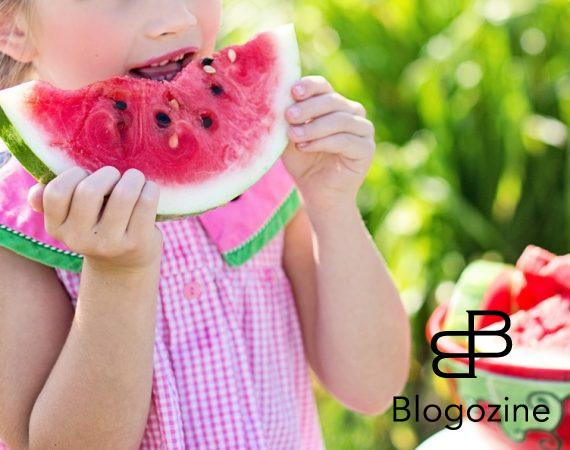 melon och barn