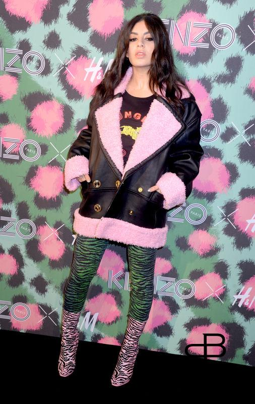Charlie XCX attends Kenzo x H&M collection launch at Pier 36 in New York City, NY, USA, on October 19, 2016. Photo by Dennis Van Tine/ABACAPRESS.COM