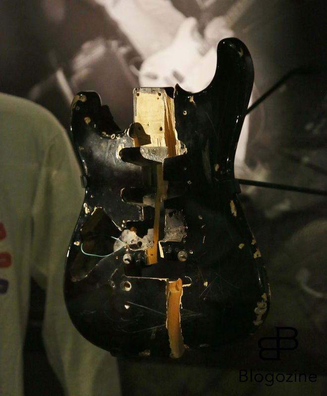 Exclusive... 52206928 General views of the Kurt Cobain exhibit at the Experience Music Pavilion Museum in Seattle, Washington on October 18, 2016. The exhibit is only available for a limited time and showcases some of his favorite guitars and other memorabilia. FameFlynet, Inc - Beverly Hills, CA, USA - +1 (310) 505-9876