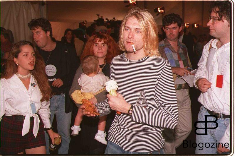 1993.UNIVERSAL CITY - KURT COBAIN LEAD SINGER OF NIRVANA. PHOTO: PAUL HARRIS/BWP Code: 4003 COPYRIGHT STELLA PICTURES