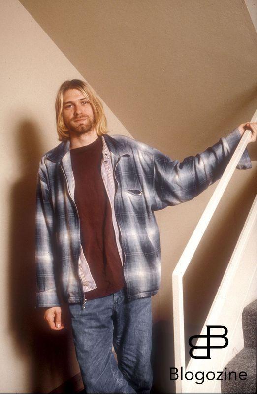 Seatle-WA-USA. 13/08/1993. Rockband ?Nirvana?. Kurt Cobain. Code:Mike Hashimoto/ABACA. Code:4001/ 46378 COPYRIGHT STELLA PICTURES