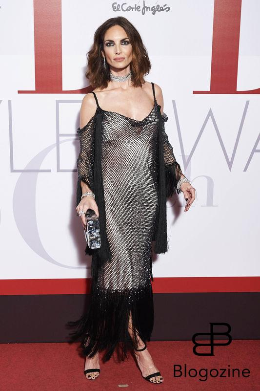 Eugenia Silva attending the Elle Style Awards 2016 red carpet at Circulo de Bellas Artes in Madrid, Spain, 26.10.2016. Credit: Thorton/insight media