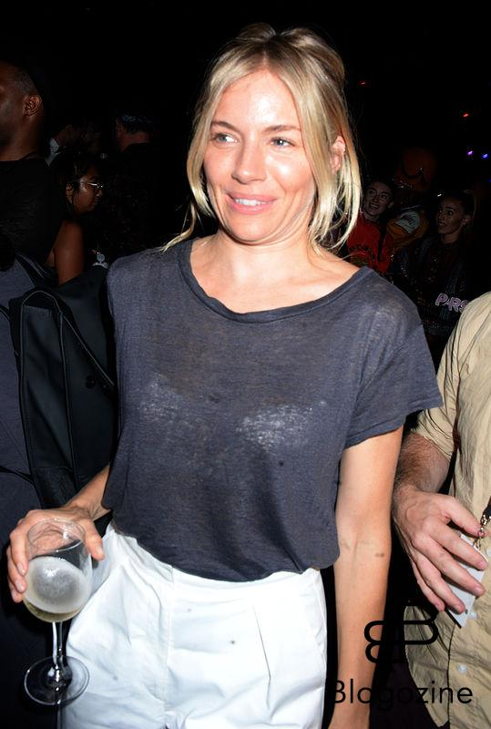 Sienna Miller attends Kenzo x H&M collection launch at Pier 36 in New York City, NY, USA, on October 19, 2016. Photo by Dennis Van Tine/ABACAPRESS.COM