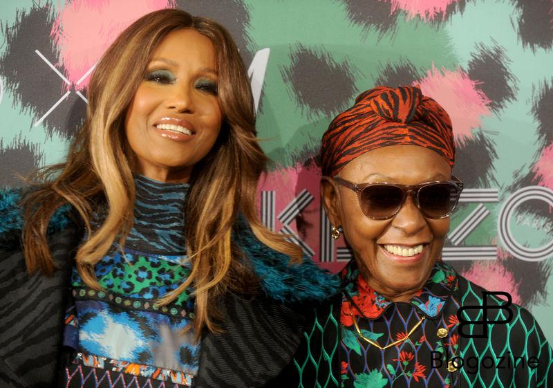 Iman and Bethann Hardison attend Kenzo x H&M collection launch at Pier 36 in New York City, NY, USA, on October 19, 2016. Photo by Dennis Van Tine/ABACAPRESS.COM