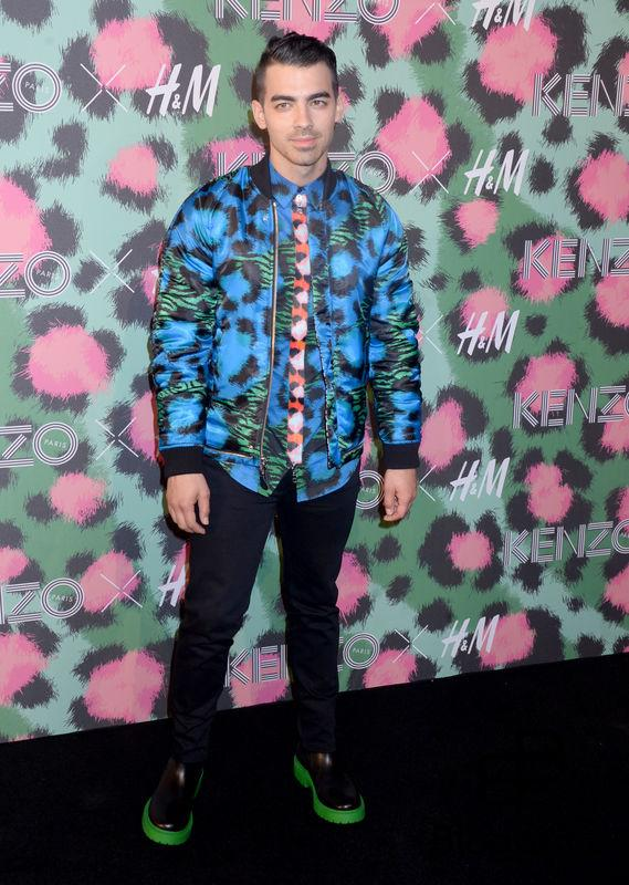 Joe Jonas attends Kenzo x H&M collection launch at Pier 36 in New York City, NY, USA, on October 19, 2016. Photo by Dennis Van Tine/ABACAPRESS.COM