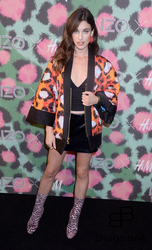 Actress Rainey Qualley attends Kenzo x H&M collection launch at Pier 36 in New York City, NY, USA, on October 19, 2016. Photo by Dennis Van Tine/ABACAPRESS.COM