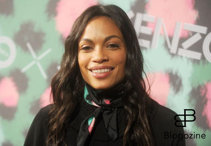 Rosario Dawson attends Kenzo x H&M collection launch at Pier 36 in New York City, NY, USA, on October 19, 2016. Photo by Dennis Van Tine/ABACAPRESS.COM