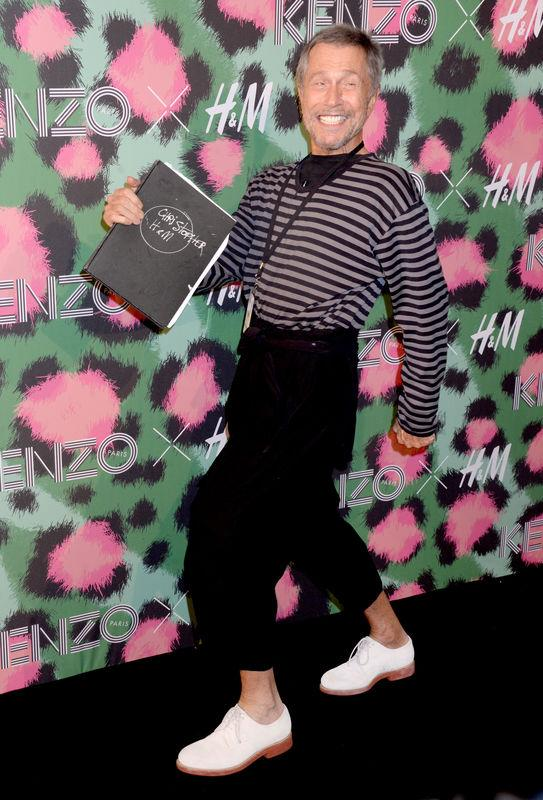 Jean-Paul Goude attends Kenzo x H&M collection launch at Pier 36 in New York City, NY, USA, on October 19, 2016. Photo by Dennis Van Tine/ABACAPRESS.COM