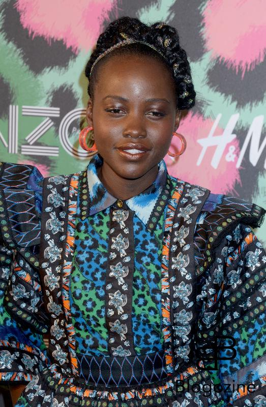 Lupita Nyong'o attends Kenzo x H&M collection launch at Pier 36 in New York City, NY, USA, on October 19, 2016. Photo by Dennis Van Tine/ABACAPRESS.COM