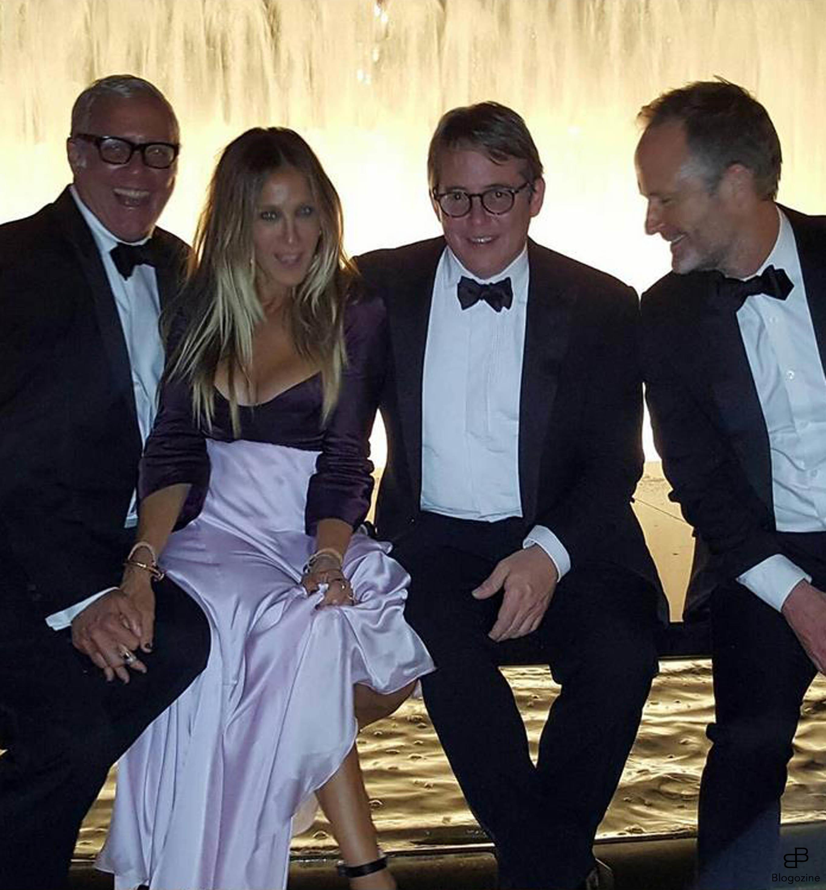 6152276 23-9-2016 Celebrity Selfies Pictured: Sarah Jessica Parker Matthew Broderick PLANET PHOTOS www.planetphotos.co.uk info@planetphotos.co.uk +44 (0)20 8883 1438 DISTR. STELLA PICTURES