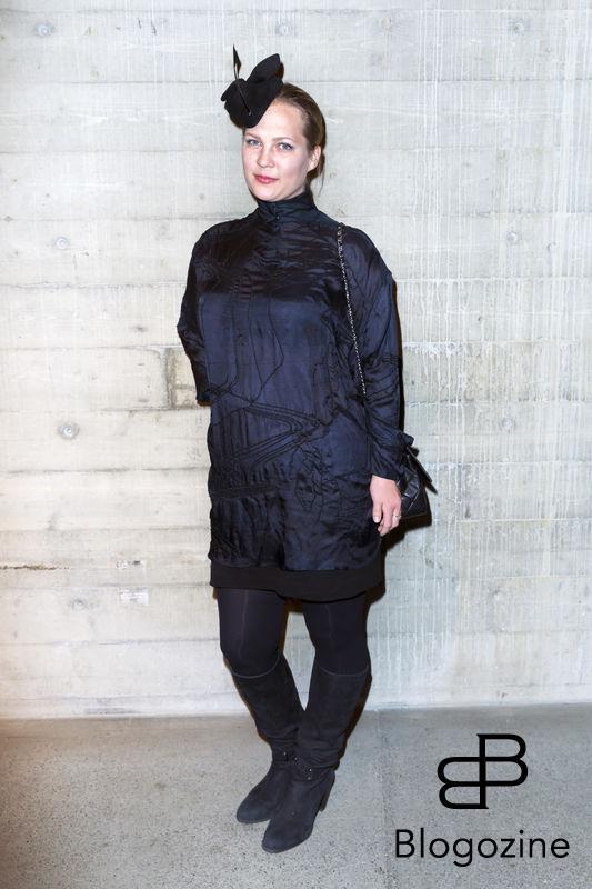 2016-11-03 Lars Wallins jubileumsutställningen Fashion Stories på Artipelag På Bilden: Malinda Damgaard COPYRIGHT Jari Kantola/STELLA PICTURES